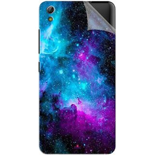 Snooky Printed Galaxie spirale Pvc Vinyl Mobile Skin Sticker For Gionee Pioneer P6