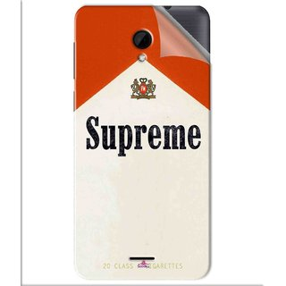 Snooky Printed Supreme mallbro Pvc Vinyl Mobile Skin Sticker For Intex Aqua Q7