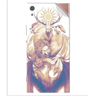 Snooky Printed game of thrones illustration Pvc Vinyl Mobile Skin Sticker For Sony Xperia x1a Ultra