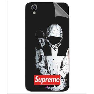 Snooky Printed Sad Supreme Pvc Vinyl Mobile Skin Sticker For Lava Iris Atom 3