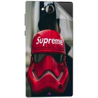 Snooky Printed Supreme star war Pvc Vinyl Mobile Skin Sticker For Xolo Prime