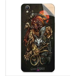 Snooky Printed game of thrones wallpaper Pvc Vinyl Mobile Skin Sticker For Oppo A37
