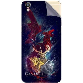 Snooky Printed Game of Thrones Pvc Vinyl Mobile Skin Sticker For Oppo R9