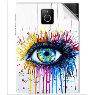 Snooky Printed eye artists Pvc Vinyl Mobile Skin Sticker For BlackBerry Passport