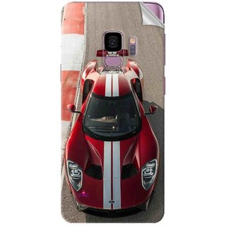 Snooky Printed Ford GT Racing Car Pvc Vinyl Mobile Skin Sticker For Samsung Galaxy S9 Plus
