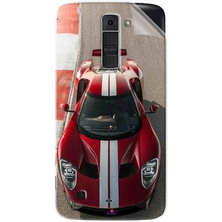 Snooky Printed Ford GT Racing Car Pvc Vinyl Mobile Skin Sticker For LG K7