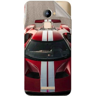 Snooky Printed Ford GT Racing Car Pvc Vinyl Mobile Skin Sticker For Coolpad Note 3 Lite