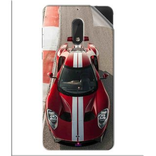 Snooky Printed Ford GT Racing Car Pvc Vinyl Mobile Skin Sticker For Nokia 6