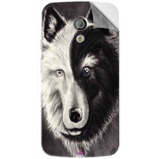 Snooky Printed Fox Yin Yang Pvc Vinyl Mobile Skin Sticker For Moto G2