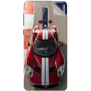 Snooky Printed Ford GT Racing Car Pvc Vinyl Mobile Skin Sticker For Nokia 9