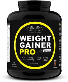 Sinew Nutrition Weight Gainer Pro With Digestive Enzyme - 138672757