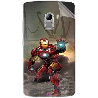 Snooky Printed Iron Man Power Pvc Vinyl Mobile Skin Sticker For Lenovo K4 Note