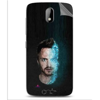 Snooky Printed jesse pinkman Breaking Bad Pvc Vinyl Mobile Skin Sticker For Htc Desire 326