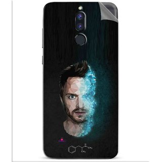 Snooky Printed jesse pinkman Breaking Bad Pvc Vinyl Mobile Skin Sticker For Huawei Honor 9i