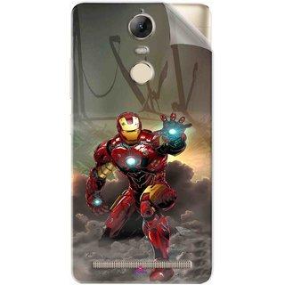 Snooky Printed Iron Man Power Pvc Vinyl Mobile Skin Sticker For Lenovo Vibe K5 Note