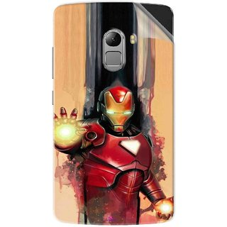 Snooky Printed Iron Man Painting Pvc Vinyl Mobile Skin Sticker For Lenovo K4 Note