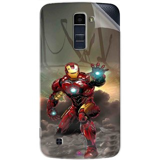 Snooky Printed Iron Man Power Pvc Vinyl Mobile Skin Sticker For LG K10
