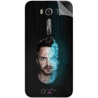 Snooky Printed jesse pinkman Breaking Bad Pvc Vinyl Mobile Skin Sticker For Asus Zenfone 2 Laser ZE550KL