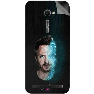 Snooky Printed jesse pinkman Breaking Bad Pvc Vinyl Mobile Skin Sticker For Asus Zenfone 2 ZE500CL 5.0
