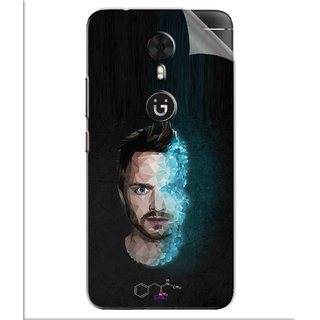 Snooky Printed jesse pinkman Breaking Bad Pvc Vinyl Mobile Skin Sticker For Gionee A1