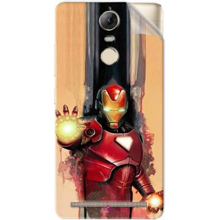 Snooky Printed Iron Man Painting Pvc Vinyl Mobile Skin Sticker For Lenovo Vibe K5 Note