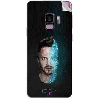 Snooky Printed jesse pinkman Breaking Bad Pvc Vinyl Mobile Skin Sticker For Samsung Galaxy S9