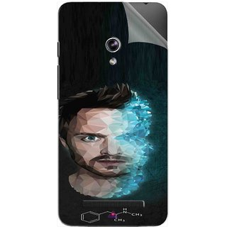 Snooky Printed jesse pinkman Breaking Bad Pvc Vinyl Mobile Skin Sticker For Asus Zenfone 5