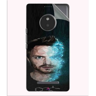 Snooky Printed jesse pinkman Breaking Bad Pvc Vinyl Mobile Skin Sticker For Micromax Yu Yunique