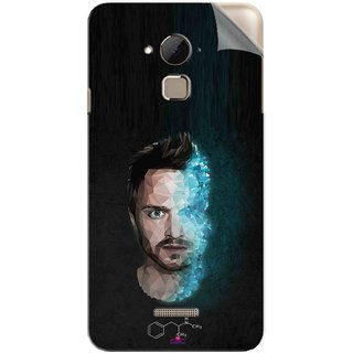 Snooky Printed jesse pinkman Breaking Bad Pvc Vinyl Mobile Skin Sticker For Coolpad Note 3 Plus