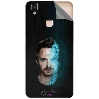 Snooky Printed jesse pinkman Breaking Bad Pvc Vinyl Mobile Skin Sticker For Vivo V3 Max