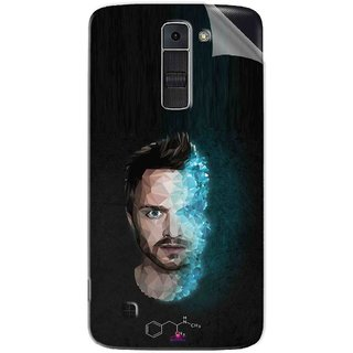 Snooky Printed jesse pinkman Breaking Bad Pvc Vinyl Mobile Skin Sticker For LG K7