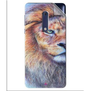 Snooky Printed joanne barby lion Pvc Vinyl Mobile Skin Sticker For Nokia 5