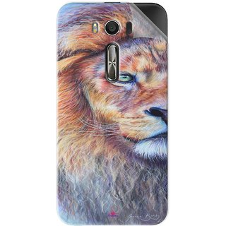 Snooky Printed joanne barby lion Pvc Vinyl Mobile Skin Sticker For Asus Zenfone 2 Laser ZE500KL