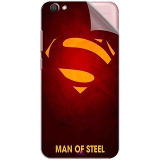 Snooky Printed Man Of Steel Supper Man Pvc Vinyl Mobile Skin Sticker For Vivo V5