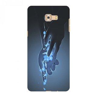 Printgasm Samsung Galaxy C7 Pro printed back hard cover/case,  Matte finish, premium 3D printed, designer case