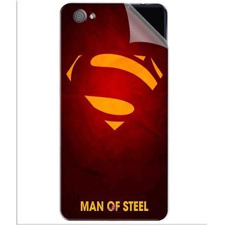 Snooky Printed Man Of Steel Supper Man Pvc Vinyl Mobile Skin Sticker For Vivo X5 Pro