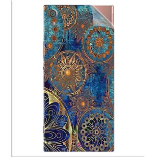 Snooky Printed mandala Pvc Vinyl Mobile Skin Sticker For Sony Xperia x1a Ultra