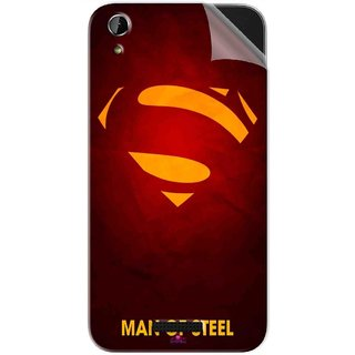 Snooky Printed Man Of Steel Supper Man Pvc Vinyl Mobile Skin Sticker For Lava X1 Atom
