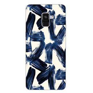 Printgasm Samsung Galaxy A8 Plus 2018 printed back hard cover/case,  Matte finish, premium 3D printed, designer case