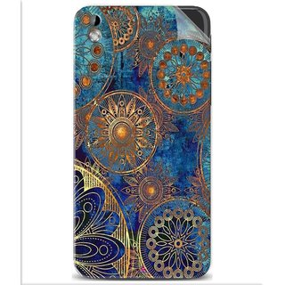 Snooky Printed mandala Pvc Vinyl Mobile Skin Sticker For Htc Desire 816