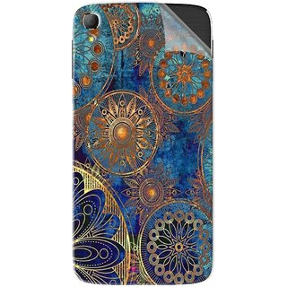 Snooky Printed mandala Pvc Vinyl Mobile Skin Sticker For Panasonic Eluga Switch