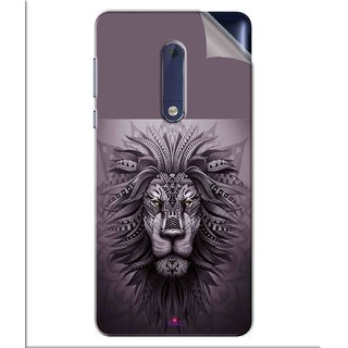 Snooky Printed lion zion Pvc Vinyl Mobile Skin Sticker For Nokia 5