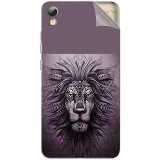 Snooky Printed lion zion Pvc Vinyl Mobile Skin Sticker For Tecno i7