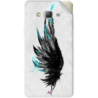 Snooky Printed wing tattoo Pvc Vinyl Mobile Skin Sticker For Samsung Galaxy A5