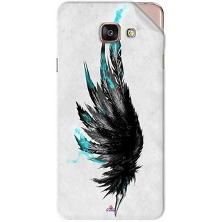 Snooky Printed wing tattoo Pvc Vinyl Mobile Skin Sticker For Samsung Galaxy A7 2016