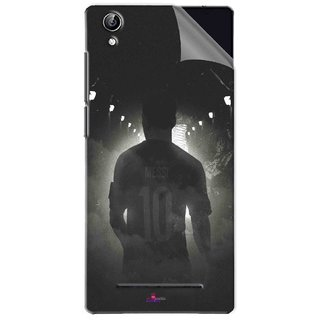 Snooky Printed messi black and white Football Pvc Vinyl Mobile Skin Sticker For Vivo Y51L