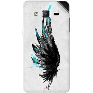 Snooky Printed wing tattoo Pvc Vinyl Mobile Skin Sticker For Samsung Galaxy On5