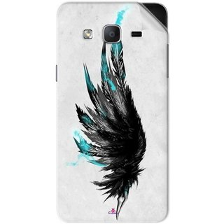 Snooky Printed wing tattoo Pvc Vinyl Mobile Skin Sticker For Samsung Galaxy On7 Pro