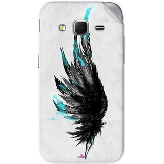 Snooky Printed wing tattoo Pvc Vinyl Mobile Skin Sticker For Samsung Galaxy Core Prime
