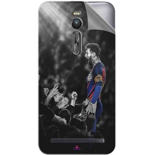 Snooky Printed lionel messi wallpaper 2017 Pvc Vinyl Mobile Skin Sticker For Asus Zenfone 2